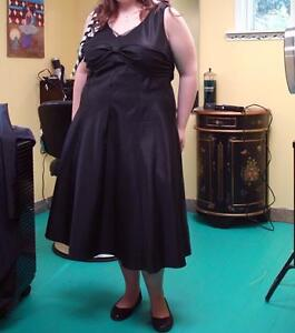 Size 18 black grad dress