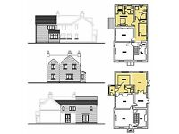Architectural Drawings for Extensions, Alterations and Conversions (Planning and Building Warrant)