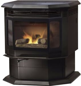 NEAR NEW SANTA FE QUADRA-FIRE PELLET STOVE