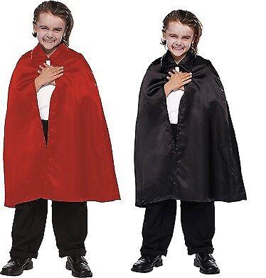Umhang Kinder Kostüm Cape Vampir Halloween (Vampir Kind Cape Kostüme)