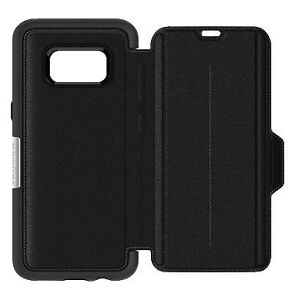 new product 977be 4c277 OTTERBOX Strada Series Folio Case for Samsung Galaxy S8 in Onyx