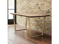 Dining table/ kitchen table + 2 benches