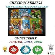 Skylanders Giants Triple Pack