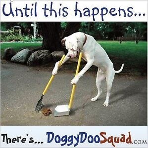 Dog poop in YOUR backyard? Call 1-888-OH-DOGGY