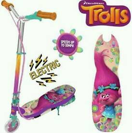 Trolls Electric 24v Children's Scooter