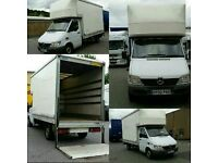 plymouth devon man and a van removals mercedes 3.5ton luton + 500kg electric tail lift 07742 905981