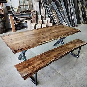**** CUSTOM LIVE EDGE FURNITURE  ****