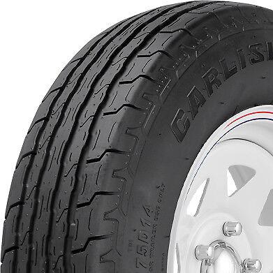 2 New ST225/75-15 Carlisle Sport Trail LH 8 Ply D Load Bias Trailer Tires
