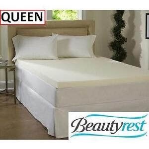 NEW BR 3'' QUEEN MATTRESS TOPPER BEAUTYREST - MEMORY FOAM - BEDDING - QUEEN SIZE 103166507