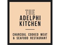 Front of House Waiting Staff and Supervisors Required for City Centre Restaurant The Adelphi Kitchen