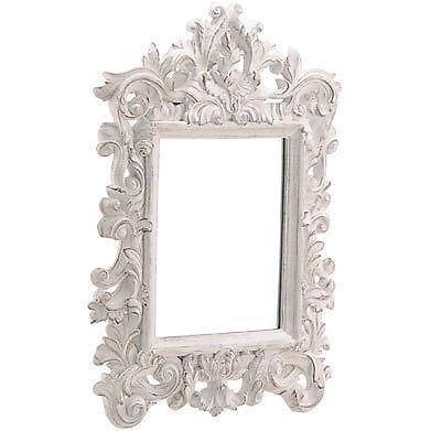 Distressed White Mirror Ebay