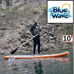 OB BLUE WAVE INFLATABLE PADDLEBOARD RL3010 189802736 SPORTS STINGRAY W/ PUMP 10' OPEN BOX