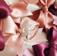 Heart Crystal Ring For Girl