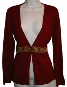 LIZ CLAIBORNE Deep Red Cardigan Sweater - NEW Gatineau Ottawa / Gatineau Area image 1