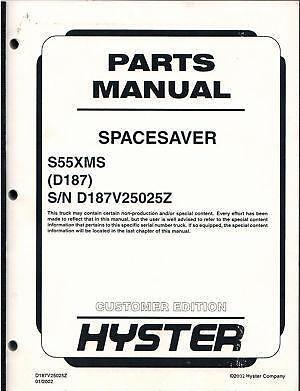 hyster forklift manual