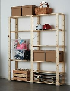 ikea shelves for garage