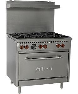 "Nella -  36"" 6-Burner Gas Range with Oven - Brand New - On Sale!"