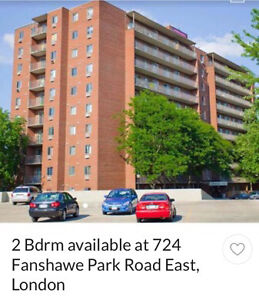 Lease take over on Two bedroom apartment - London London Ontario image 5