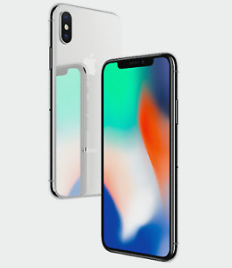 Iphone X for sale 64GB Silver/GRIS (2 NEW/Sealed pieces)