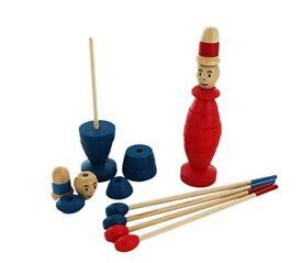 New Wooden Tweedledum and Tweedledee Chopstick Challenge Game