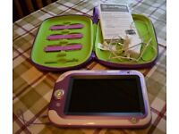Leapfrog LeapPad XDI Ultra with 7 inch screen, case & charger