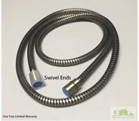 Brushed Bronze Stainless Steel Shower Hose with Swivel Ends
