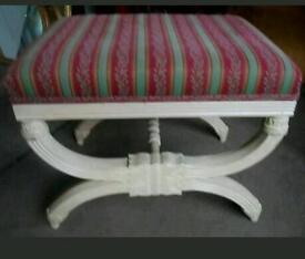 STUNNING SHABBY CHIC FRENCH STYLE BEDROOM SEAT
