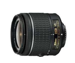 Nikon  Dx-VR 18-55 mm lens with Warranty