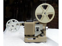 Classic 8mm film projector