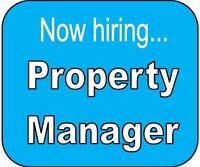 Seeking to hire experienced Property Manager / Project Manager