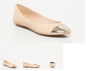 Brand NEW Le Chateau Leather Ballerina Flats, size 6½ , 20$