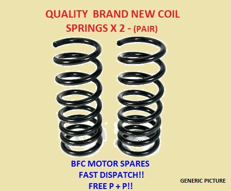 LEXUS IS200 (1999 - 2005) FRONT 2 X SUSPENSION COIL SPRINGS  NEW