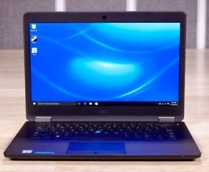 High end Dell Latitude E7470 laptop - mint condition