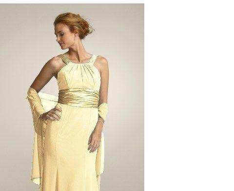 Canary Yellow Bridesmaid Dress Ebay