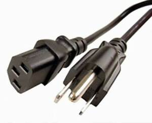New 6ft 3 Prong Power Cords