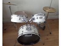 Pearl Rhythm Traveler Drumkit and Mesh Heads