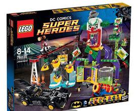 Brand new Lego Superheroes Batman Jokerland set 70635 (duplicate gift)