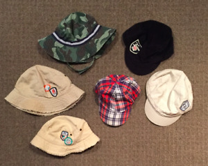 6 Hats 0-12 Months