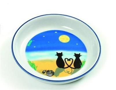 Katzennapf Futterschale Keramiknapf Futternapf CATS & MOON 200 ml
