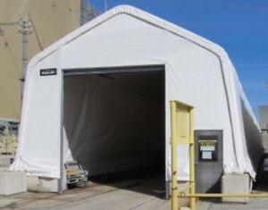 Commercial tarp shelter