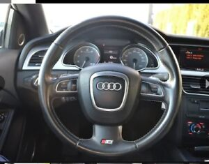 Good Condition Audi B8 S5 OEM Sport Steering Wheel with Airbag