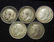 1916 Silver Threepence