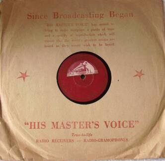 Shellac 10 inch records - Pre microgroove PART 2 JG1