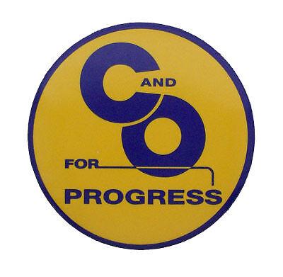 Chesapeake & Ohio C&O Railroad Magnet #58-1080