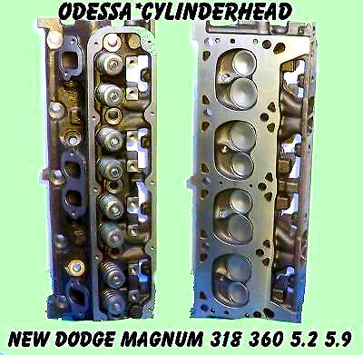 NEW FITS  DODGE JEEP MAGNUM 5.2 5.9 318 360 CYLINDER HEADS NO CORE REQUIRED