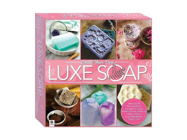 Create your own Luxe Soap Kit -Brand New (Hinkler)