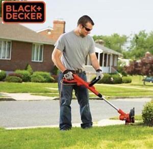 NEW BLACK AND DECKER GRASS CUTTER - 126042438 - ELECTRIC 6.5A STRAIGHT SHAFT