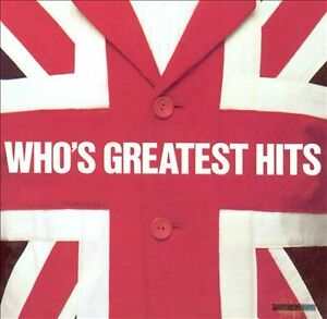 Who-Greatest Hits cd-Excellent condition