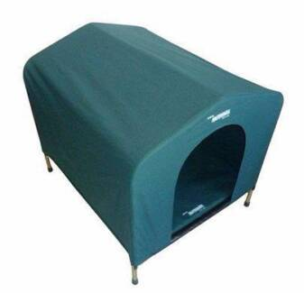 Hound House Small Canvas Dog Kennel Redcliffe Belmont Area Preview