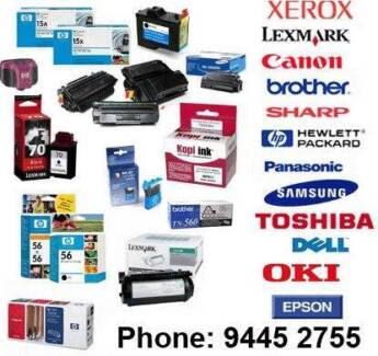 Ink and toner cartridges save $$$  HP Lexmark Brother Canon Epson Osborne Park Stirling Area Preview